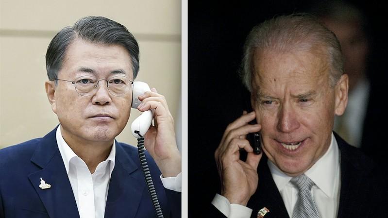 Điện đàm Moon-Biden: Đồng minh 'chân ái' vạch chiến lược liên minh tương lai