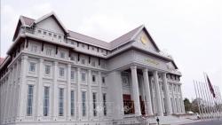 Tòa nhà Quốc hội mới của Lào: Biểu tượng của tình đoàn kết Việt-Lào