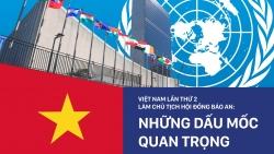 Việt Nam lần thứ 2 làm Chủ tịch Hội đồng Bảo an: Những dấu mốc quan trọng