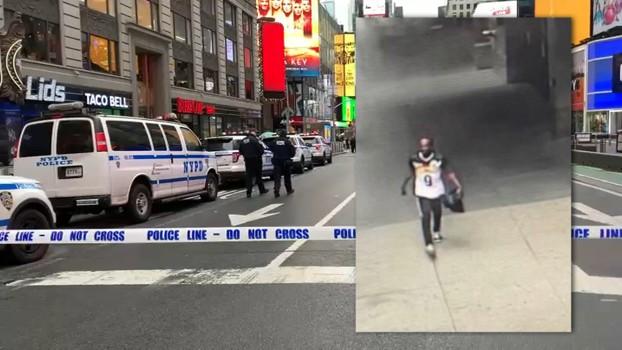 Mỹ: Xả súng ở quảng trường Thời đại, nghi phạm bị 'lên hình'