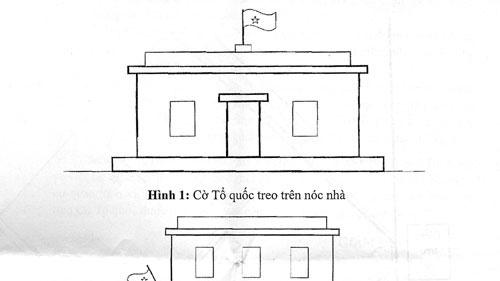 3 cách treo Quốc kỳ tại Cơ quan đại diện ngoại giao