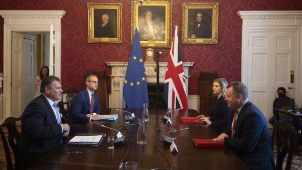 Anh-EU trước nguy cơ chiến tranh thương mại vì bất đồng liên quan Bắc Ireland