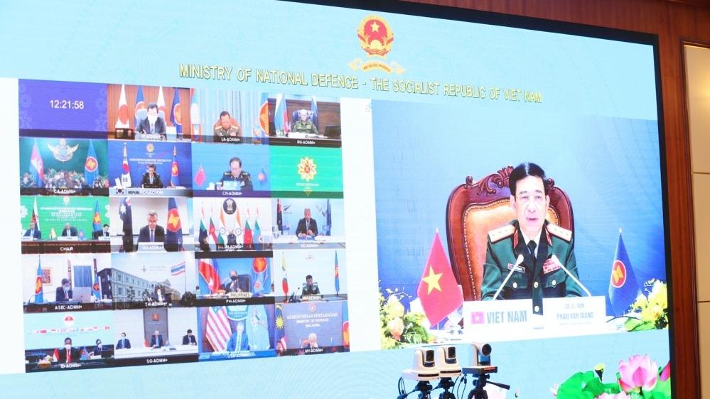 Hội nghị ADMM+ lần thứ 8: 'Chúng ta là những nhà lãnh đạo quốc phòng vì hòa bình'