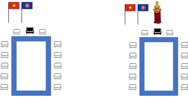 9 hình thức treo cờ ASEAN (phần 1)