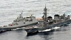 Ấn Độ, Nhật Bản đem dàn vũ khí hùng hậu ra tập trận hải quân JIMEX