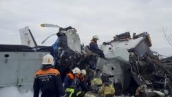 Hé lộ nguyên nhân rơi máy bay tại Nga