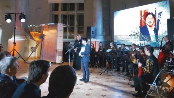 Công dân Việt Nam tại Nga được trao giải thưởng danh giá của thành phố Saint Petersburg