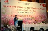 Tăng cường xúc tiến đầu tư, du lịch giữa Hà Nội và Nhật Bản