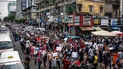 Tình hình Myanmar: Tái diễn biểu tình diện rộng