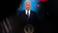 Ảnh ấn tượng tuần (29/3-4/4): Tình hình Myanmar, chiến sự Syria, nước mắt Covid-19 và lời cam kết của Tổng thống Mỹ