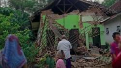 Động đất ở Indonesia, ít nhất 7 người thiệt mạng, hơn 300 ngôi nhà bị tàn phá