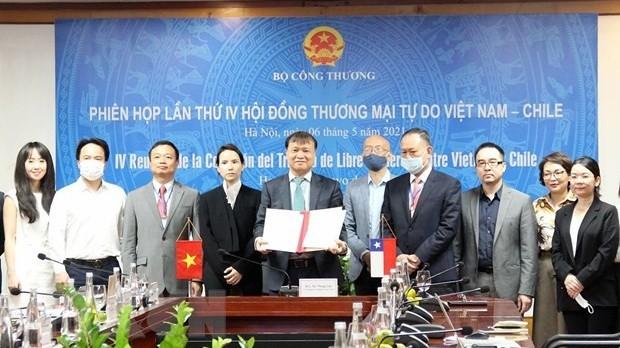 FTA Việt Nam-Chile thúc đẩy tăng trưởng thương mại ấn tượng