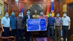 Covid-19: Nhân dân tỉnh Oudomsay, Lào chung tay cùng các địa phương Việt Nam phòng, chống dịch
