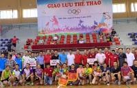 Công đoàn Bộ Ngoại giao và UBND TP Sầm Sơn, Thanh Hóa giao lưu thể thao