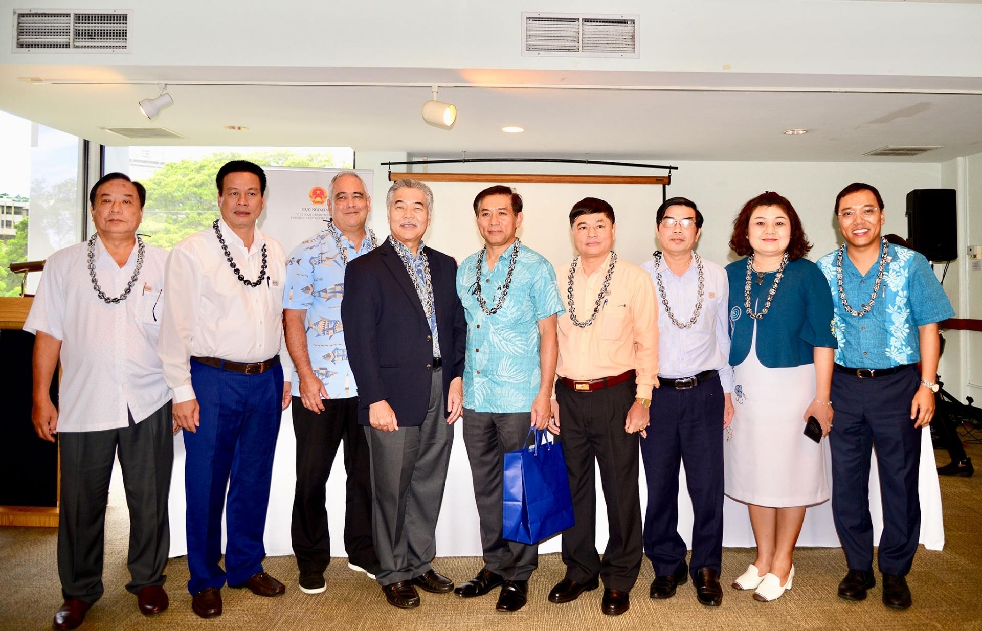 Quảng bá địa phương Việt Nam tại bang Hawaii và California, Hoa Kỳ