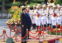 Quy trình đón tiếp Thủ tướng Chính phủ
