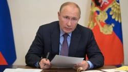 Ảnh ấn tượng tuần 13-19/9: Tổng thống Nga tự cách ly, Cuba đi đầu trong chiến lược tiêm vaccine và 'nóng ran' thỏa thuận AUKUS
