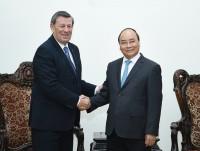Thủ tướng tiếp Bộ trưởng Ngoại giao CH Đông Uruguay