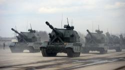 Pháo tự hành mới nhất Koalitsiya-SV của Nga được thử nghiệm ở chế độ 'Bão lửa'