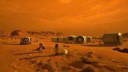 Khi nào xuất hiện đô thị triệu dân trên Hỏa Tinh?