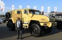 Xe bọc thép VPK-Ural của Nga chưa xong thử nghiệm đã có khách nước ngoài đặt hàng