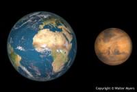 Sao Hỏa sẽ tiến sát Trái Đất vào ngày 30/5