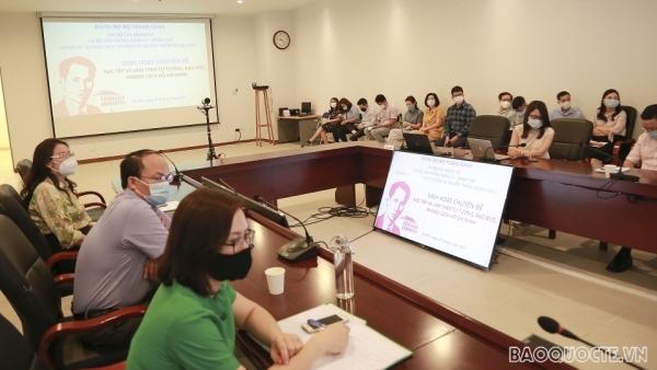 Sinh hoạt chi bộ chuyên đề Học tập và làm theo tư tưởng, đạo đức, phong cách Hồ Chí Minh
