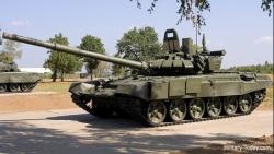 Nga đưa xe tăng khủng nhất đến phòng thủ Crimea