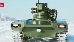 Robot chiến đấu của Nga được đánh giá cao ở Anh