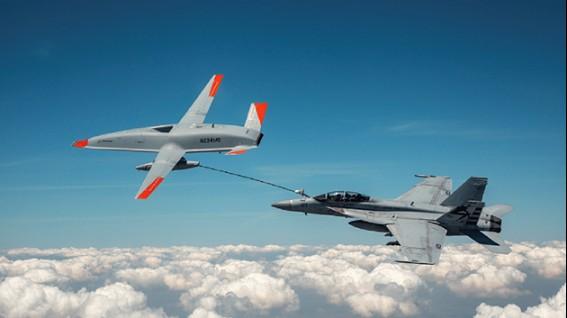 Boeing thử nghiệm máy bay không người lái tiếp nhiên liệu trên không