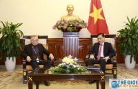 Thứ trưởng Lê Hoài Trung tiếp Trưởng Đại diện FAO trình Ủy nhiệm thư