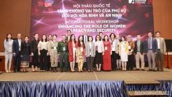 Phụ nữ, hòa bình và an ninh là một trọng tâm trong đối ngoại đa phương của Việt Nam