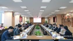 Đoàn Trưởng Cơ quan đại diện Việt Nam ở nước ngoài làm việc tại Đài truyền hình Việt Nam