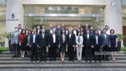 Đoàn Trưởng Cơ quan đại diện Việt Nam ở nước ngoài làm việc tại Thông tấn xã Việt Nam