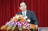 Chủ tịch Đảng Cộng sản Nhật Bản nói chuyện với sinh viên Học viện Ngoại giao