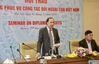 """Bộ Ngoại giao tổ chức Hội thảo """"Quà tặng phục vụ công tác đối ngoại của Việt Nam"""""""