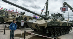 Lực lượng Đổ bộ đường không của Nga sẽ được trang bị pháo tự hành lội nước