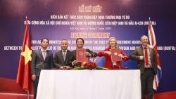 Việt Nam-Anh kết thúc đàm phán Hiệp định Thương mại tự do