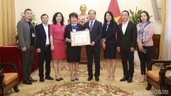 Lãnh đạo Bộ Ngoại giao trao bằng khen cho Báo Thanh Niên