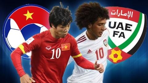 Link xem trực tiếp bóng đá trận Việt Nam vs UAE 23h45 ngày 15/6