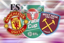 MU vs West Ham Cúp EFL: Link xem trực tiếp và nhận định 1h45 ngày 23/9, Ronaldo có đá không?
