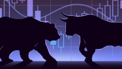 Thị trường chứng khoán ngày 19/4: Đến chiều mới hồi sức