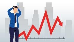 Thị trường chứng khoán ngày 8/6: Tụt dốc không phanh, 40 điểm VN-Index 'bay màu'