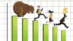 Thị trường chứng khoán ngày 21/6 : Sắc đỏ chiếm ưu thế lớn