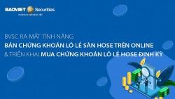 Chứng khoán Bảo Việt (BVSC) ra mắt tính năng mới