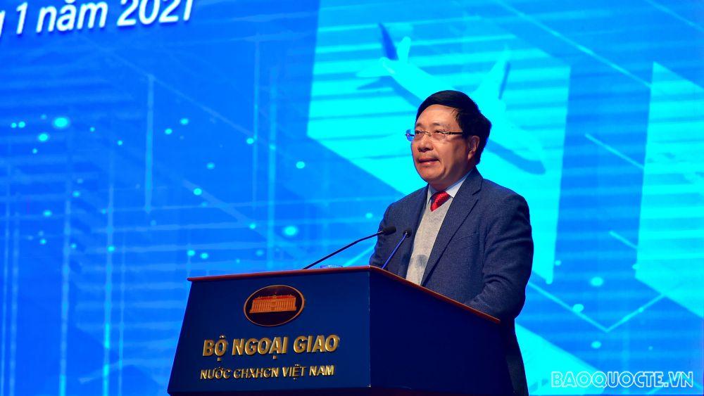 Phó Thủ tướng Phạm Bình Minh: Xây dựng nền ngoại giao toàn diện, hiện đại