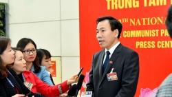 Đại hội XIII: Các đại biểu ấn tượng và thống nhất cao với các báo cáo tại phiên khai mạc