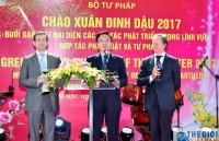 Bộ Tư pháp gặp mặt các Trưởng cơ quan đại diện quốc tế tại Việt Nam