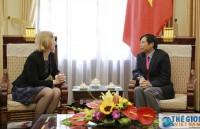 Thứ trưởng Ngoại giao Đặng Đình Quý tiếp Đại sứ New Zealand tại Việt Nam