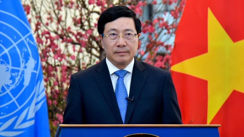 Phó Thủ tướng Phạm Bình Minh: Việt Nam sẽ ứng cử vị trí thành viên Hội đồng Nhân quyền Liên hợp quốc nhiệm kỳ 2023-2025